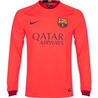 Barcelona Away Shirt 2014/15 - Long Sleeve