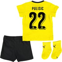 BVB Home Baby Kit 2015/16 Yellow with Pulisic 22 printing