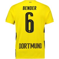 BVB Home Shirt 2017-18 with Bender 6 printing