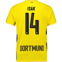 BVB Home Shirt 2017-18 with Isak 14 printing
