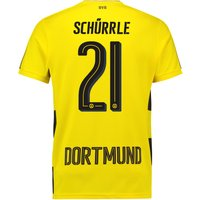 BVB Home Shirt 2017-18 with Schürrle 21 printing