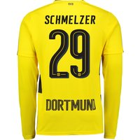 BVB Home Shirt 2017-18 - Long Sleeve with Schmelzer 29 printing