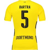 BVB Home Shirt 2017-18 - Outsize with Bartra 5 printing