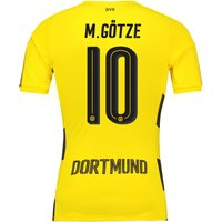 BVB Home Shirt 2017-18 - Outsize with M. Götze 10 printing