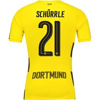 BVB Home Shirt 2017-18 - Outsize with Schürrle 21 printing