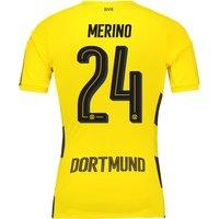 BVB Home Shirt 2017-18 - Outsize with Merino 24 printing