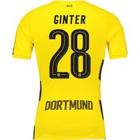 BVB Home Shirt 2017-18 - Outsize with Ginter 28 printing