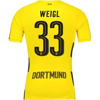 BVB Home Shirt 2017-18 - Outsize with Weigl 33 printing
