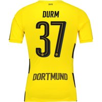 BVB Home Shirt 2017-18 - Outsize with Durm 37 printing