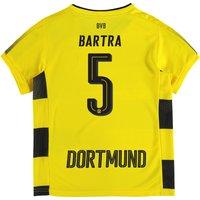 BVB Home Shirt 2017-18 - Kids with Bartra 5 printing
