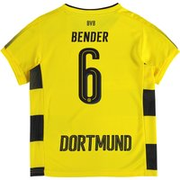 BVB Home Shirt 2017-18 - Kids with Bender 6 printing