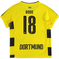 BVB Home Shirt 2017-18 - Kids with Rode 18 printing