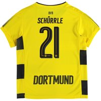 BVB Home Shirt 2017-18 - Kids with Schürrle 21 printing
