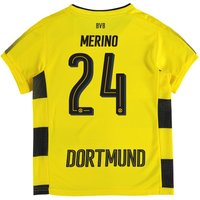 BVB Home Shirt 2017-18 - Kids with Merino 24 printing