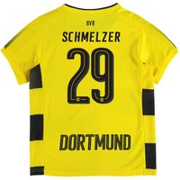 BVB Home Shirt 2017-18 - Kids with Schmelzer 29 printing