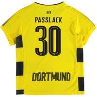 BVB Home Shirt 2017-18 - Kids with Passlack 30 printing
