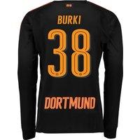 BVB Home Goalkeeper Shirt 2017/18 - Kids with Bürki 38 printing