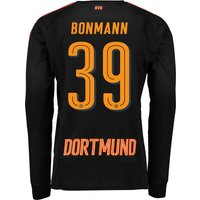 BVB Home Goalkeeper Shirt 2017/18 - Kids with Bonmann 39 printing
