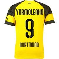 BVB Home Shirt 2018-19 with Yarmolenko 9 printing