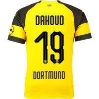 BVB Home Shirt 2018-19 with Dahoud 19 printing