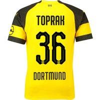 BVB Home Shirt 2018-19 with Toprak 36 printing