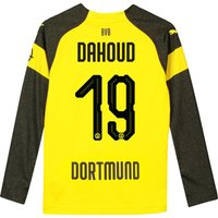 BVB Home Shirt 2018-19 - Kids - Long Sleeve with Dahoud 19 printing
