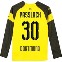 BVB Home Shirt 2018-19 - Kids - Long Sleeve with Passlack 30 printing