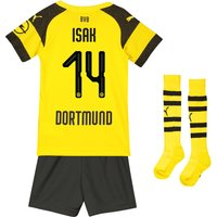 BVB Home Minikit 2018-19 with Isak 14 printing
