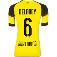 Bvb Authentic Evoknit Home Shirt 2018-19 With Delaney 6 Printing