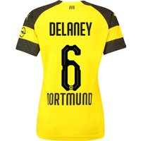 BVB Home Shirt 2018-19 - Womens with Delaney 6 printing