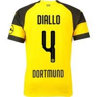 BVB Home Shirt 2018-19 with Diallo 4 printing