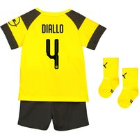 BVB Home Babykit 2018-19 with Diallo 4 printing