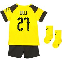 BVB Home Babykit 2018-19 with Wolf 27 printing