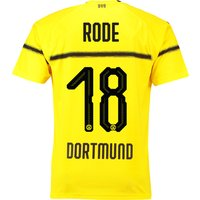 BVB Cup Home Shirt 2018-19 with Rode 18 printing