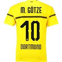 BVB Cup Home Shirt 2018-19 with M. Götze 10 printing