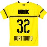 Bvb Cup Home Shirt 2018-19 - Kids With Burnic 32 Printing