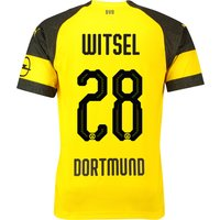 BVB Home Shirt 2018-19 with Witsel 28 printing