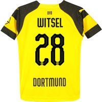BVB Home Shirt 2018-19 - Kids with Witsel 28 printing