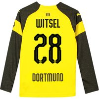 BVB Home Shirt 2018-19 - Kids - Long Sleeve with Witsel 28 printing