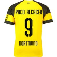 BVB Home Shirt 2018-19 with Paco Alcacer 9 printing