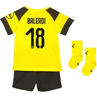 BVB Home Babykit 2018-19 with Balerdi 18 printing