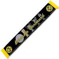 BVB Woven Honours Scarf