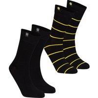 BVB 2 Pack Cotton Socks - Black