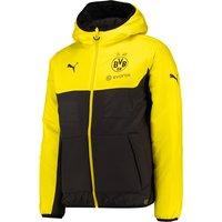 BVB Training Bench Jacket Yellow