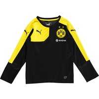 BVB Long Sleeve Training Jersey - Kids Black