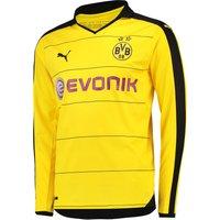 BVB Home Shirt 2015/16 - Long Sleeve Yellow