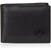 BVB Leather Wallet with Inside Print