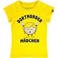 BVB Dortmund Girls Character T-Shirt Yellow - Girls