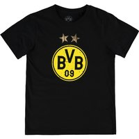 BVB Large Crest T-Shirt - Black - Kids