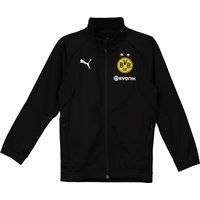 BVB Training Poly Jacket - Black - Kids